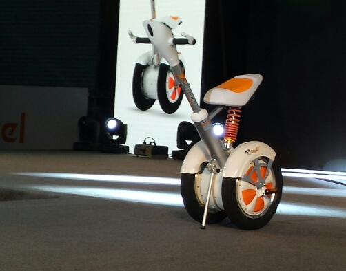 airwheel 爱尔威发布带座椅平衡车-唯轮网